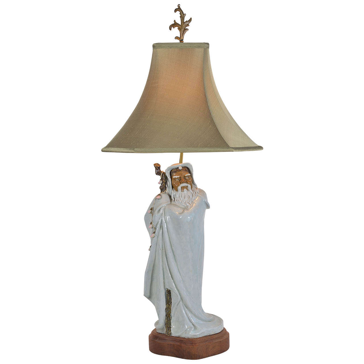 Asian Figure as Table Lamp