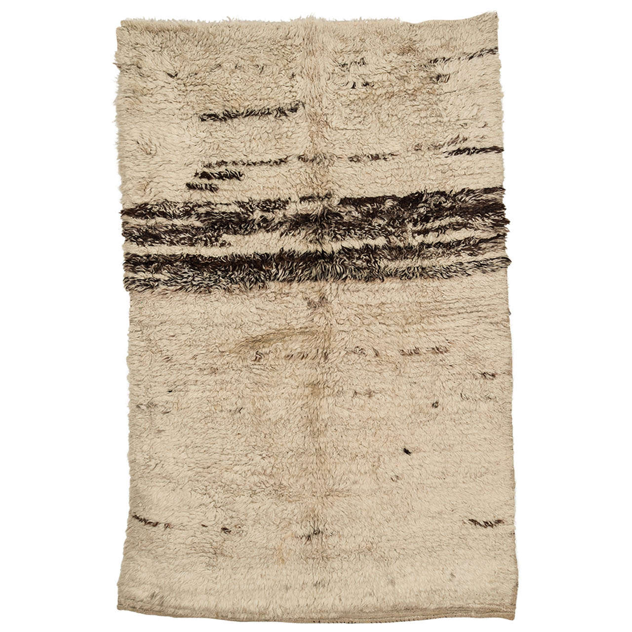 Early Turkish Ivory Tulu Rug