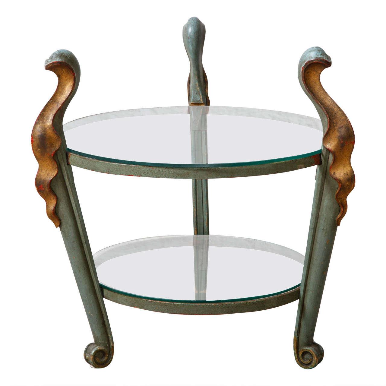 Belgian Art Nouveau Coffee Table At 1stdibs