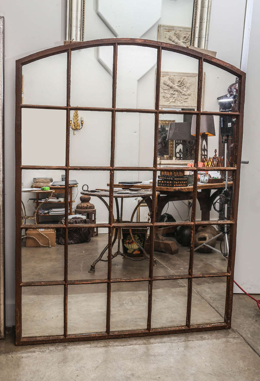 19th Century Industrial Window Or Mirror At 1stdibs