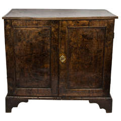 George III Burr Elm Linen Press