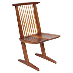 George Nakashima Conoid Chair