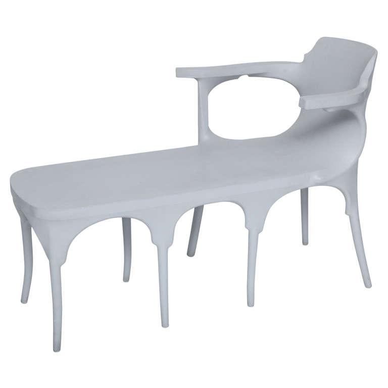 Jurgen bey kokon furniture chaise longue droog for sale for Chaise longue teck