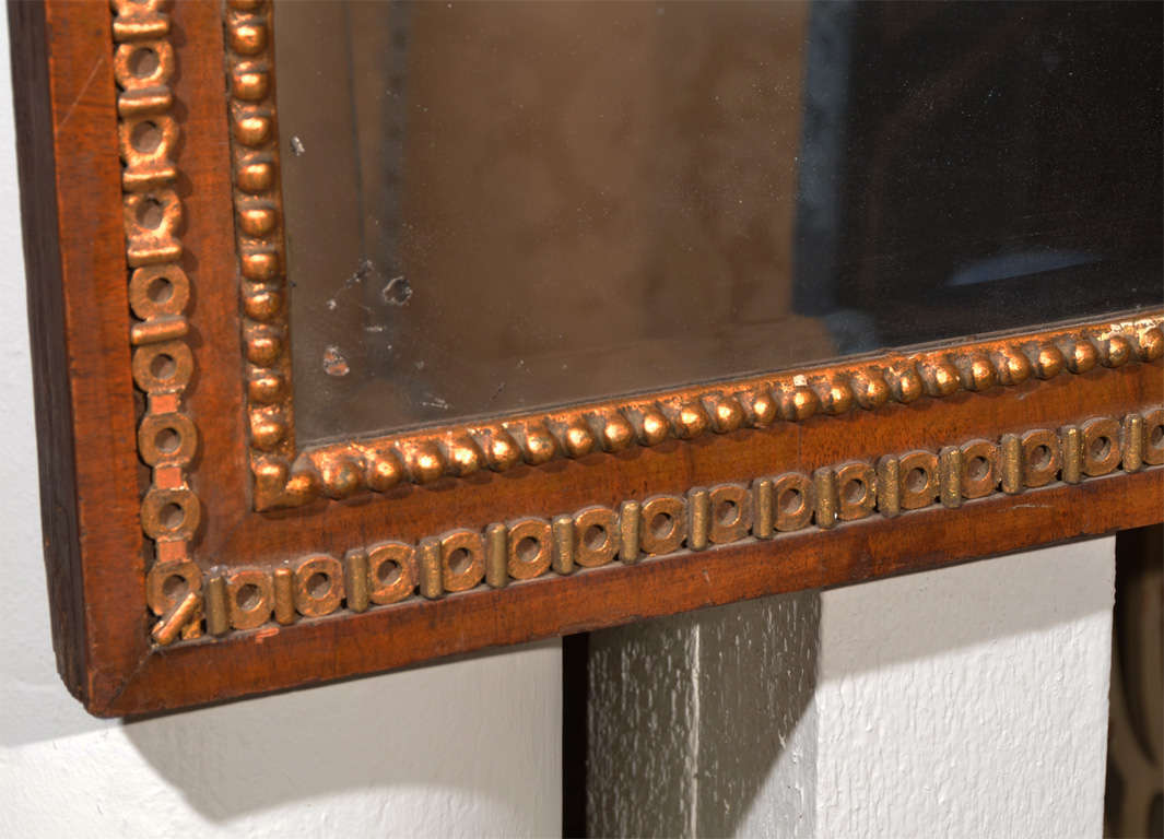 Antique Mahogany Beveled Mirror For Sale At 1stdibs