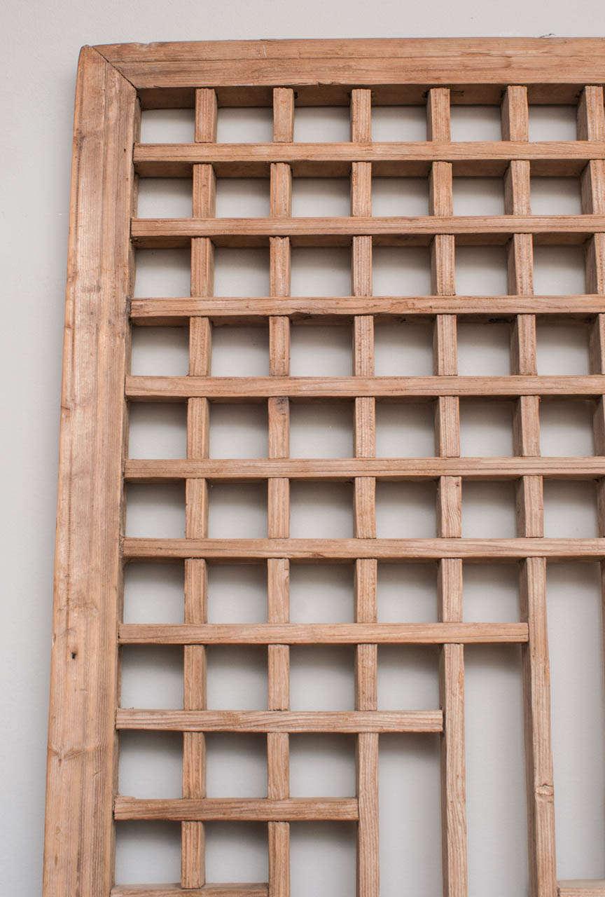Chinese lattice screen 19th century at 1stdibs for Lattice screen