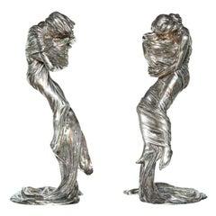 Pair of Candlesticks by Gustav Gurschner