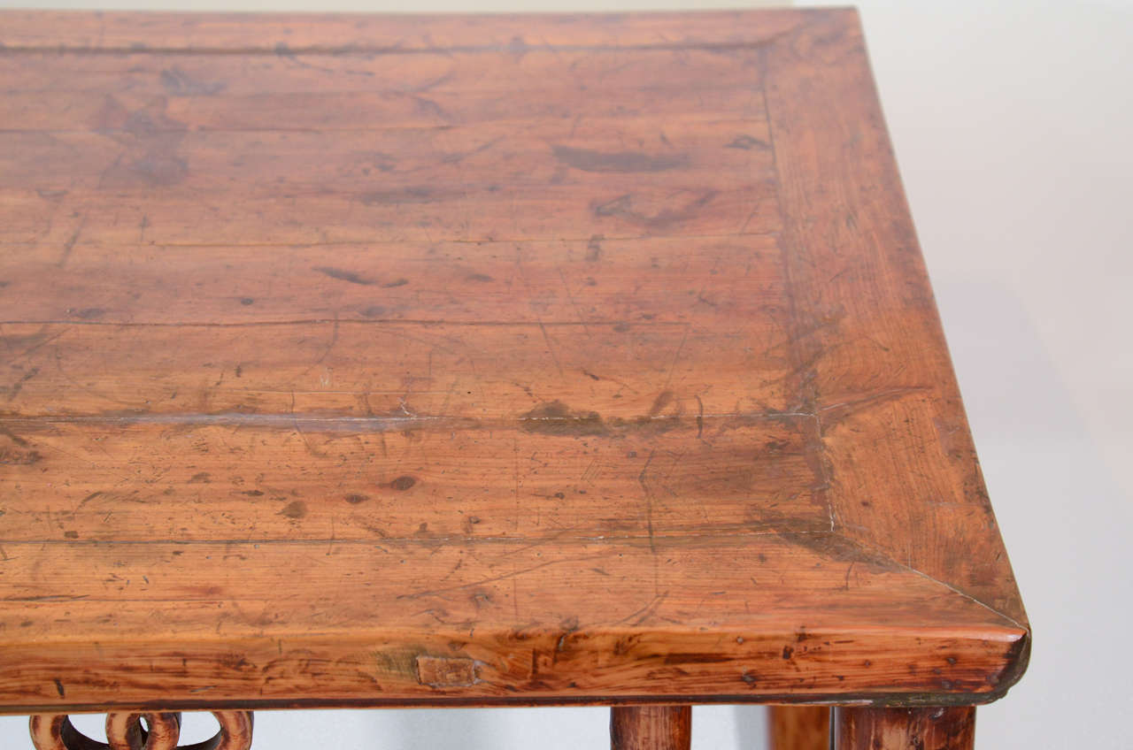 19th Century, Chinese Painting Table For Sale 1