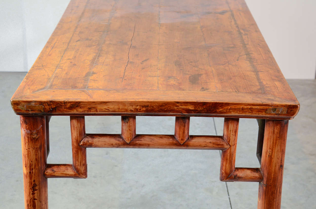 19th Century, Chinese Painting Table For Sale 4