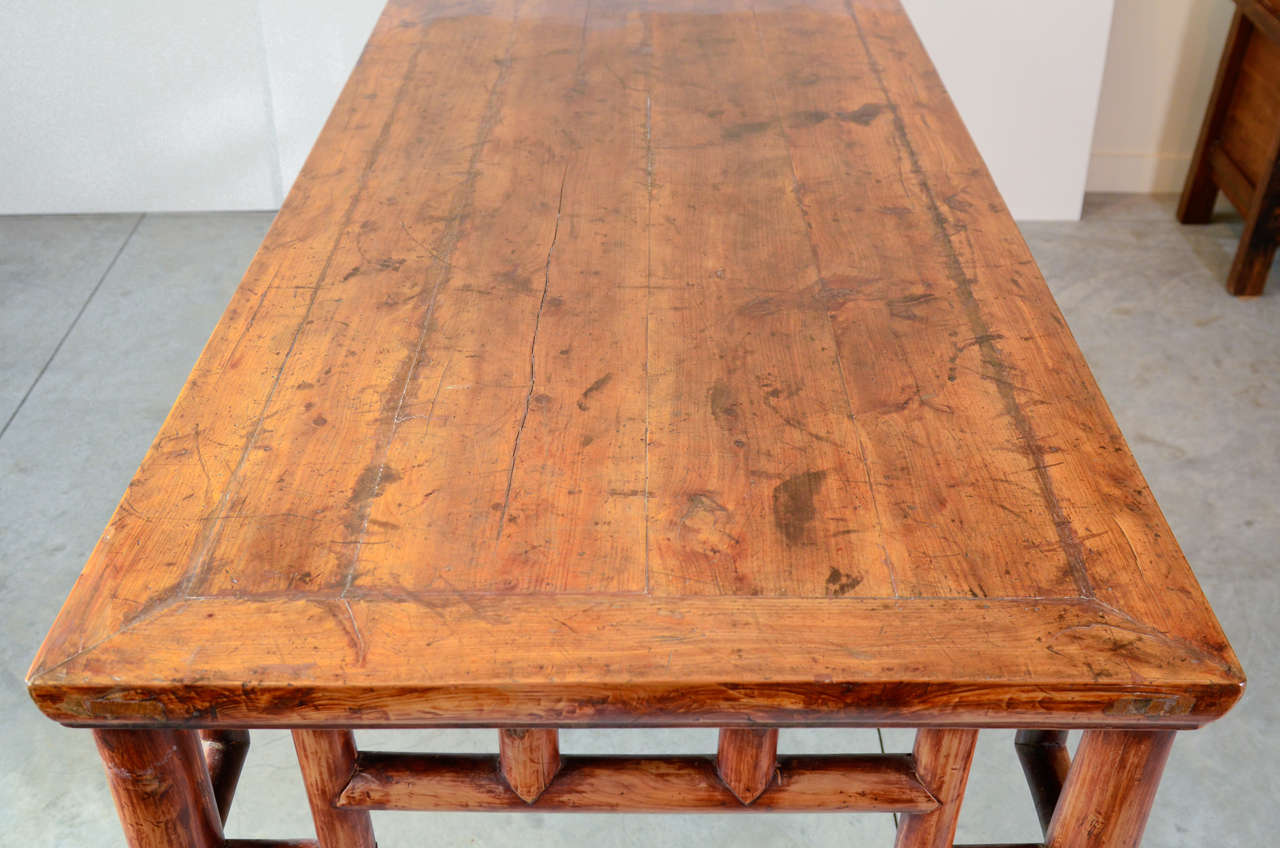 19th Century, Chinese Painting Table For Sale 5