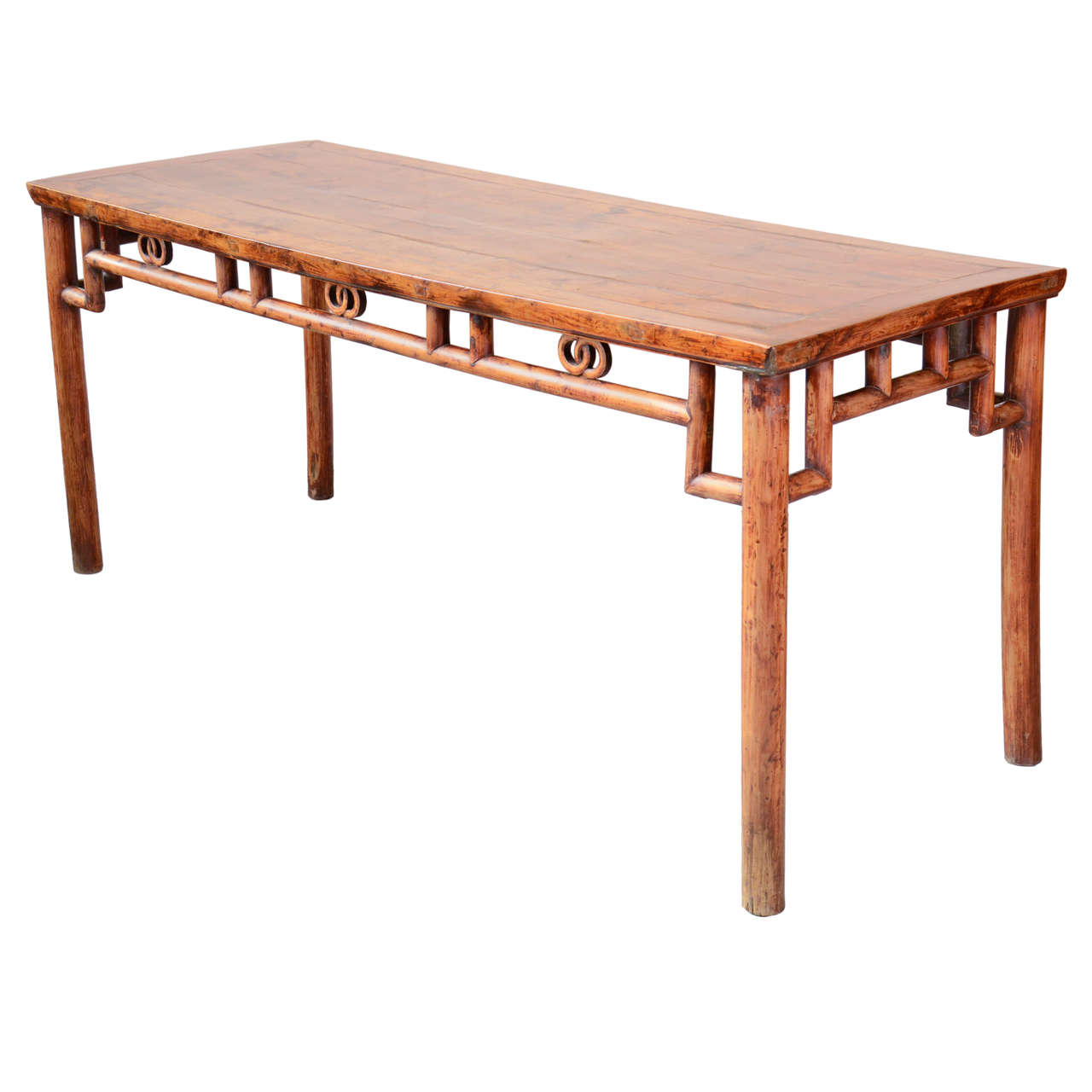 19th Century, Chinese Painting Table For Sale