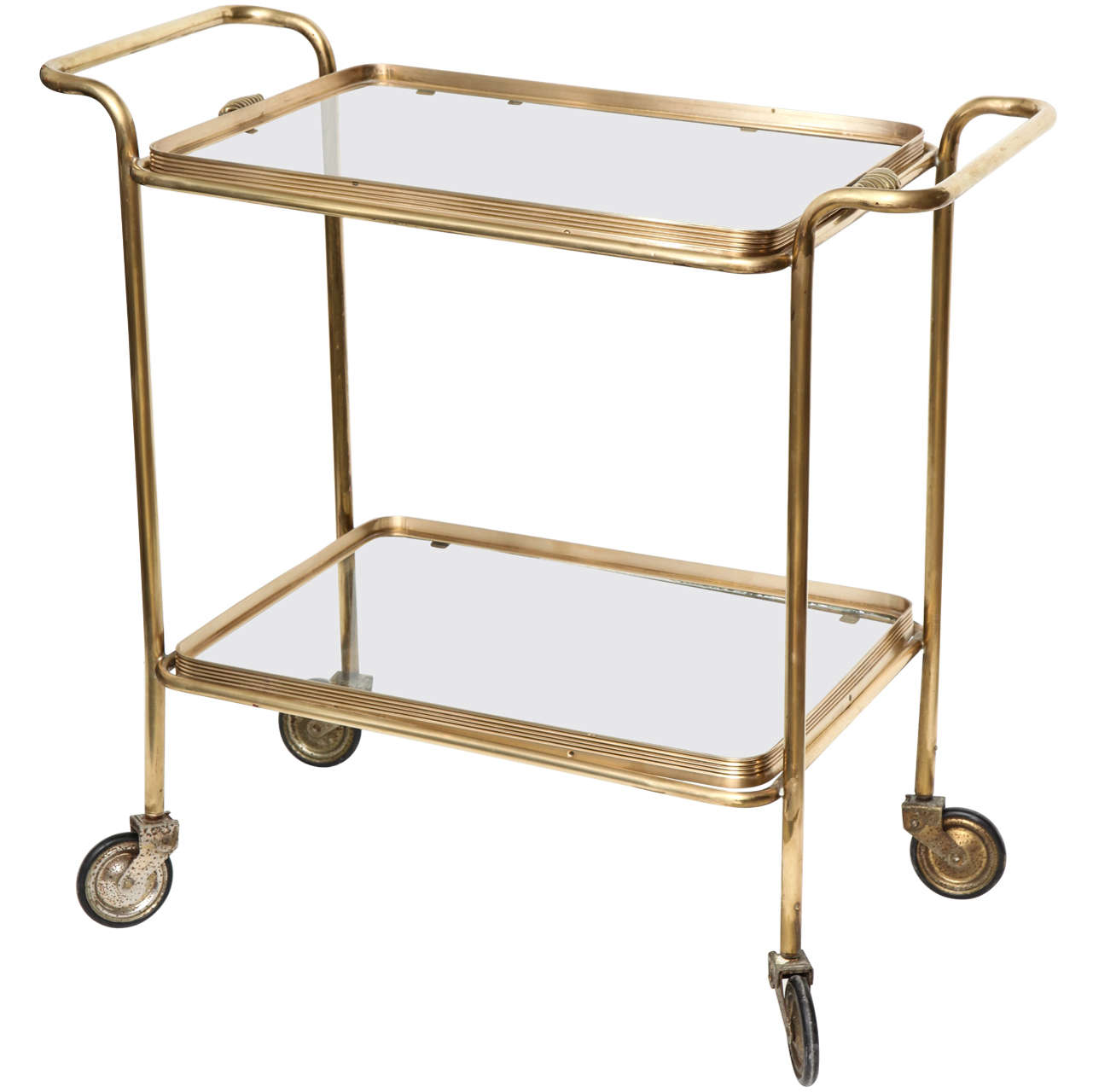 brass bar cart pictures to pin on pinterest