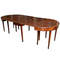 Amazing 19th Century English Mahogany Dining Table