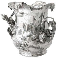 Art Nouveau Champagne Bucket