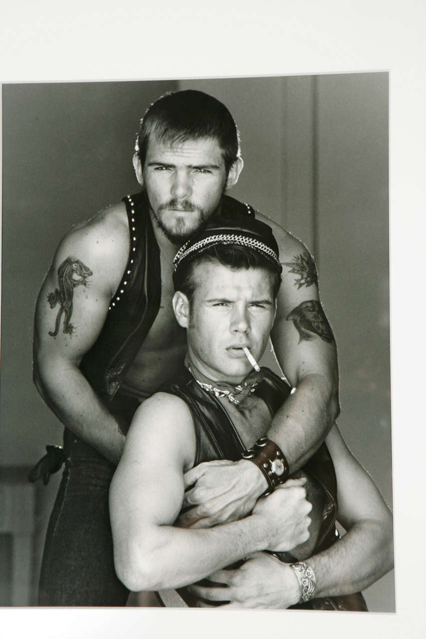 "American ""Bikers"" Photograph from the ""Opus Deorum"" Series by Jim French For Sale"