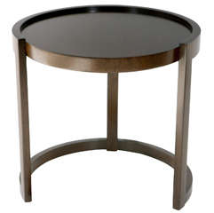"Round ""54"" Side Table by Paul Laszlo"
