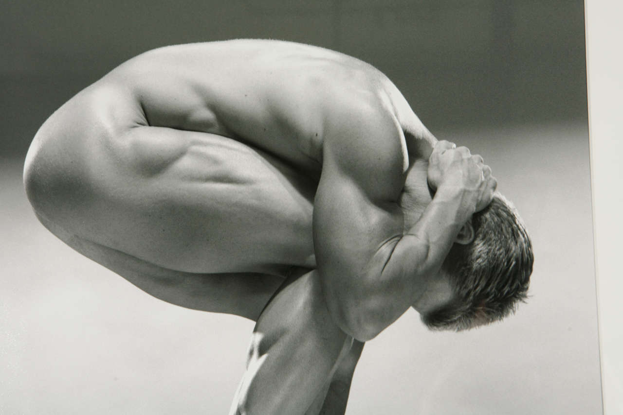 """""""Kirk Egans"""" Photograph from """"Opus Deorum"""" Series by Jim French In Excellent Condition For Sale In Los Angeles, CA"""