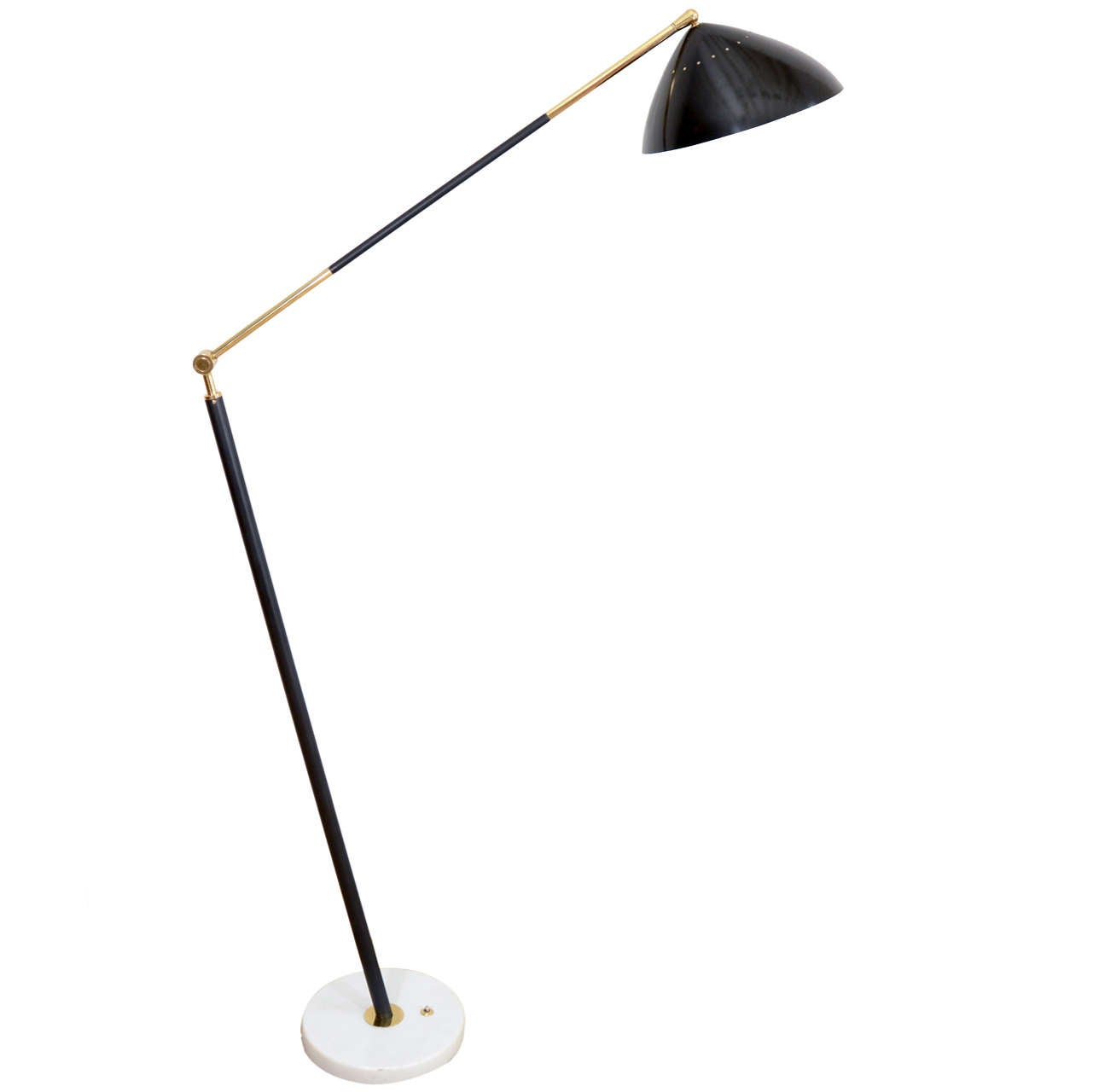Floor Standing Anglepoise: A Stilux Anglepoise Standing Lamp. At 1stdibs