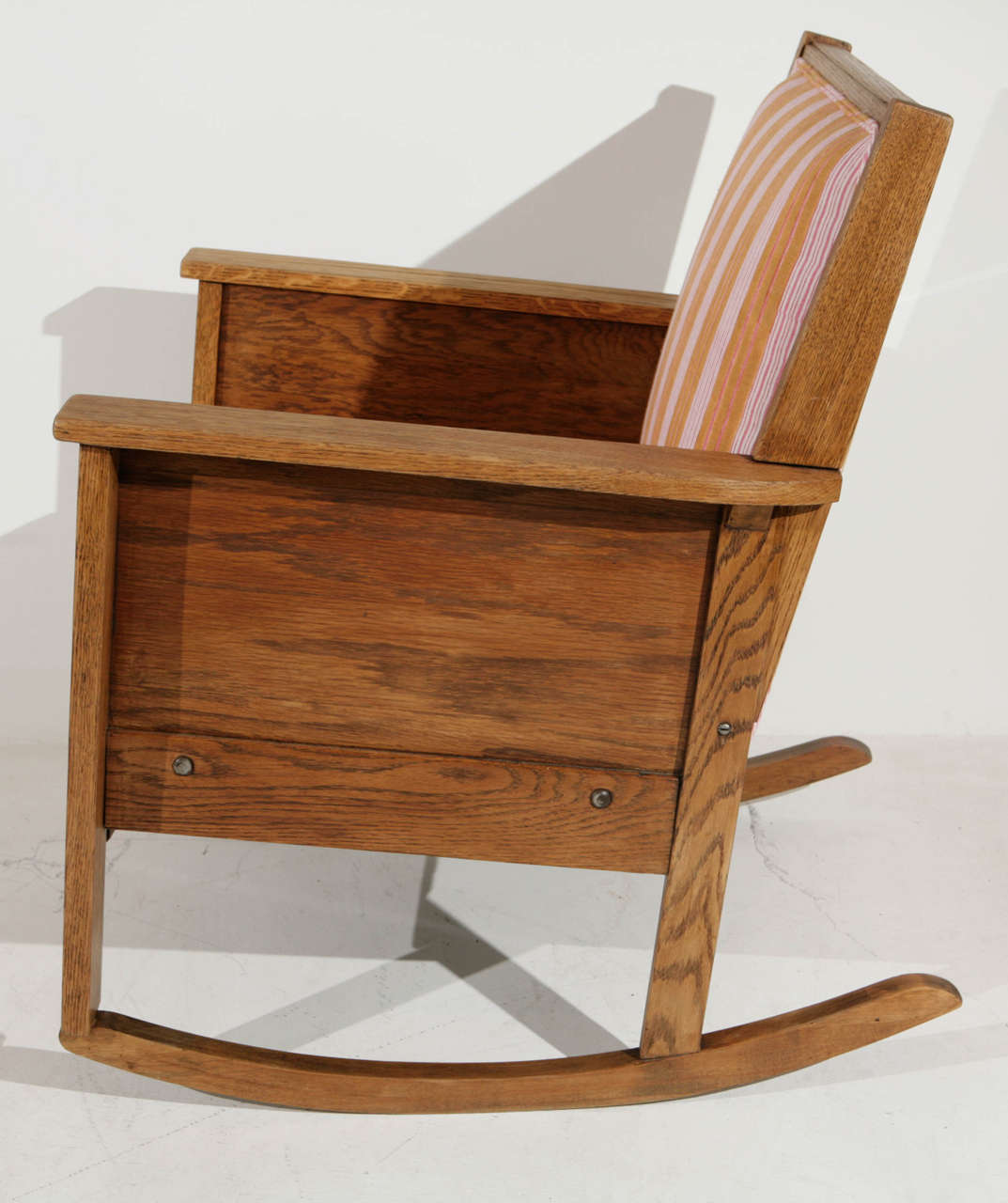 Late 19th Century American Craftsman Mission Style Oak