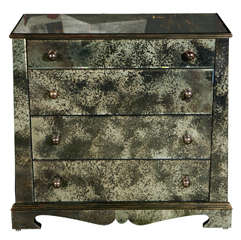 Paul Marra European Style Mirrored Chest