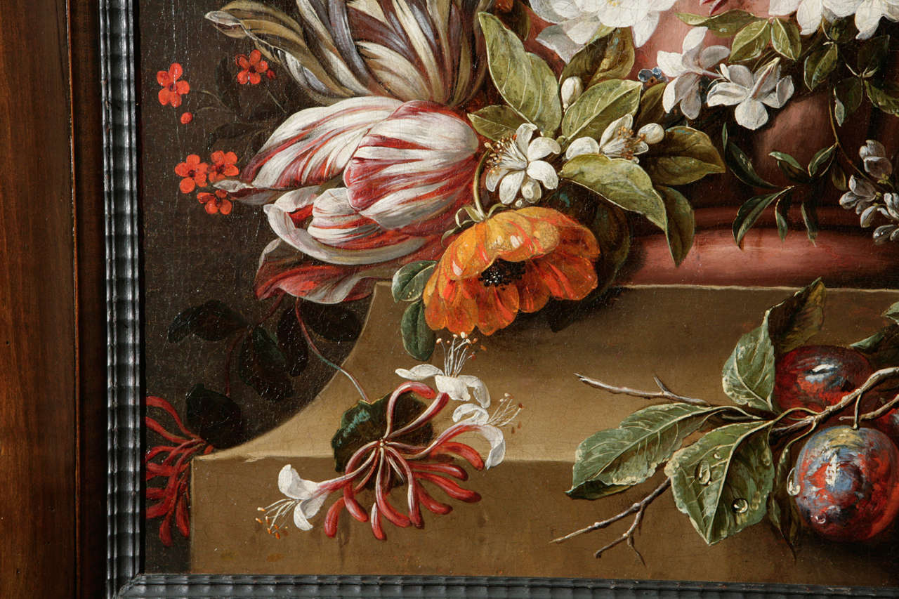 18th Century Dutch Still Life Oil Painting For Sale 2