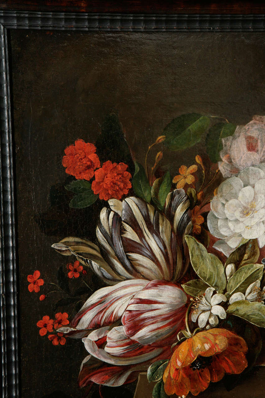 18th Century Dutch Still Life Oil Painting For Sale 4