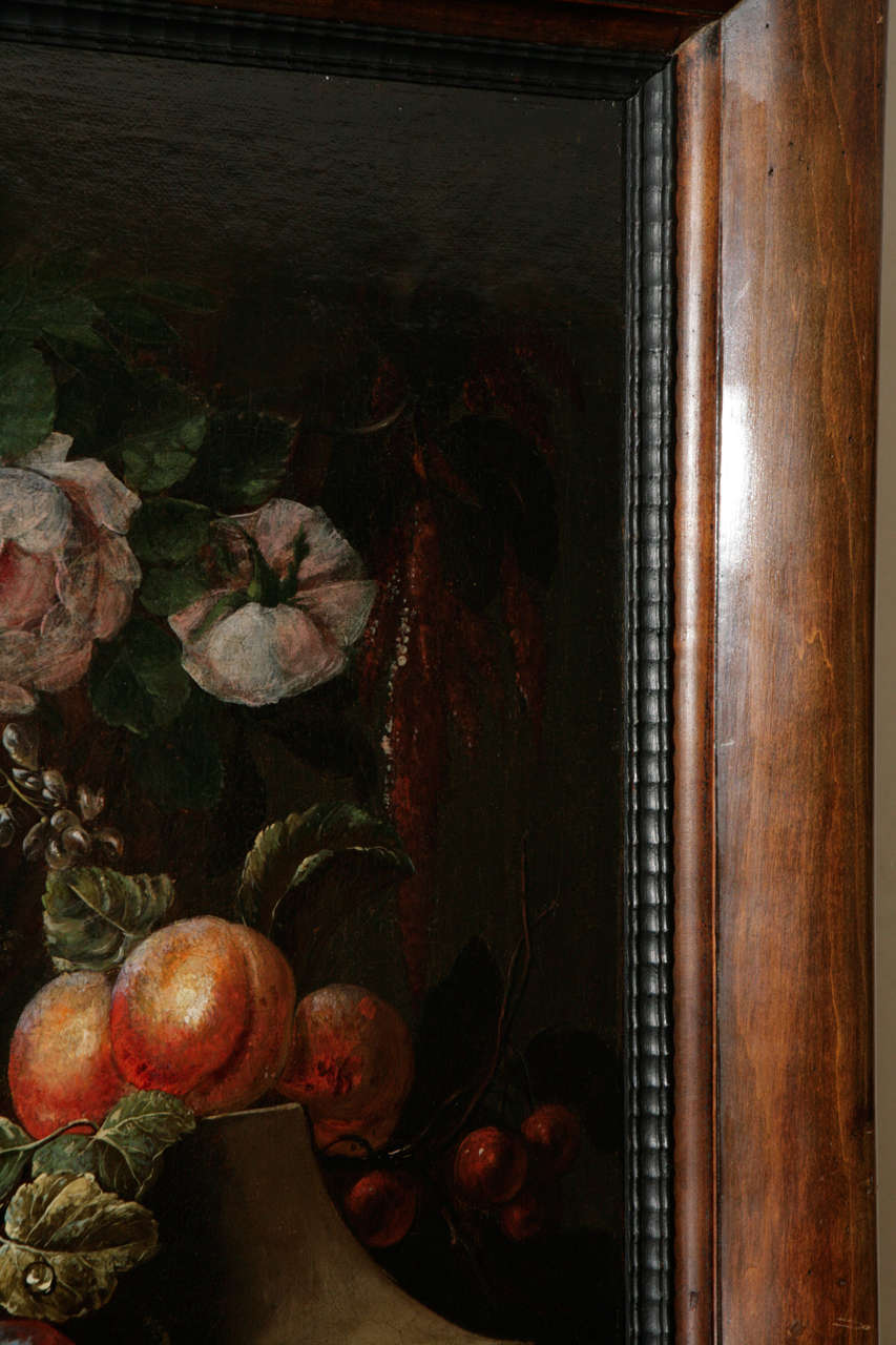 18th Century Dutch Still Life Oil Painting For Sale 6