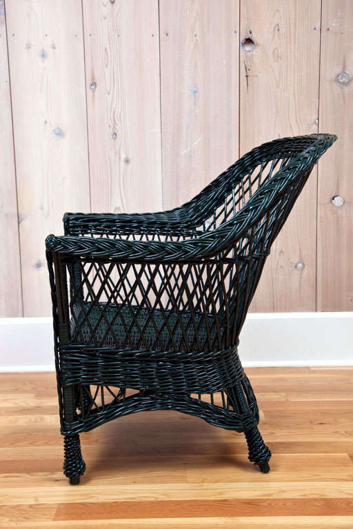 Antique Bar Harbor Wicker Chairs At 1stdibs