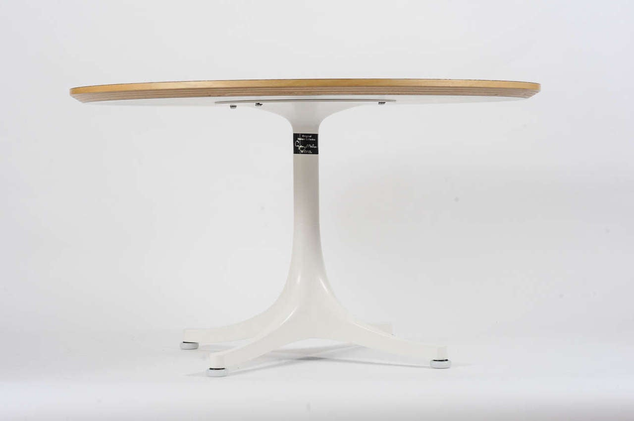 Pedestal Coffee Table By George Nelson For Vitra For Sale At 1stdibs