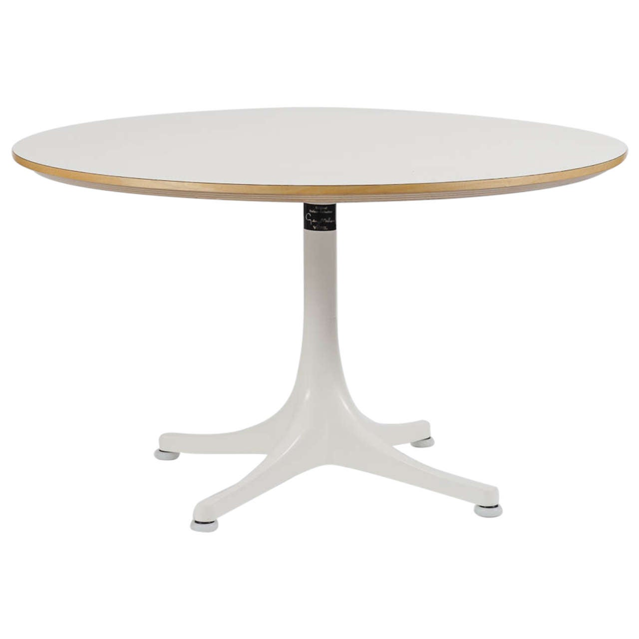 Pedestal Coffee Table By George Nelson For Vitra 1