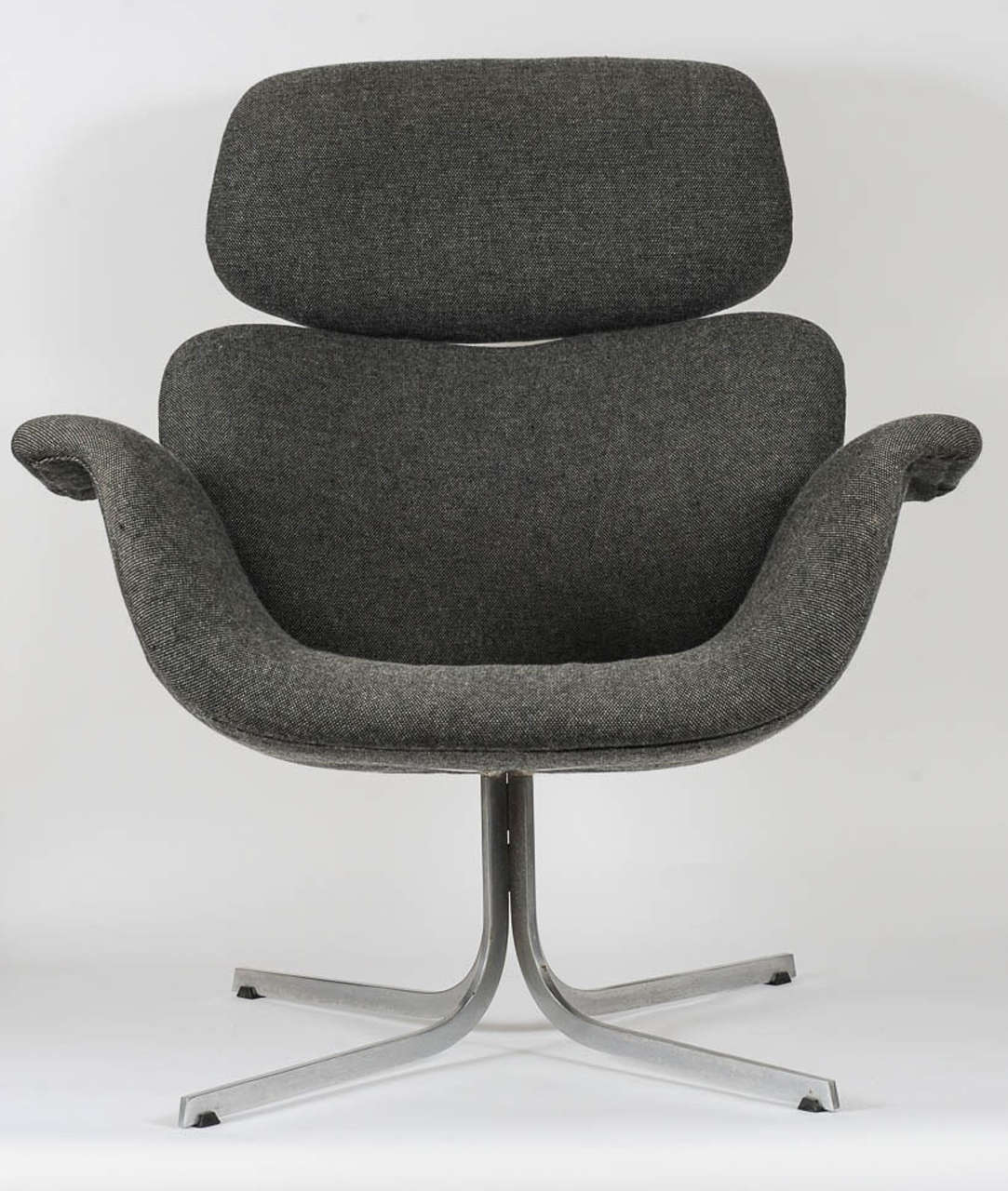 Very Comfortable Lounge Chair Designed In 1965 By The Great French Designer  Pierre Paulin. The