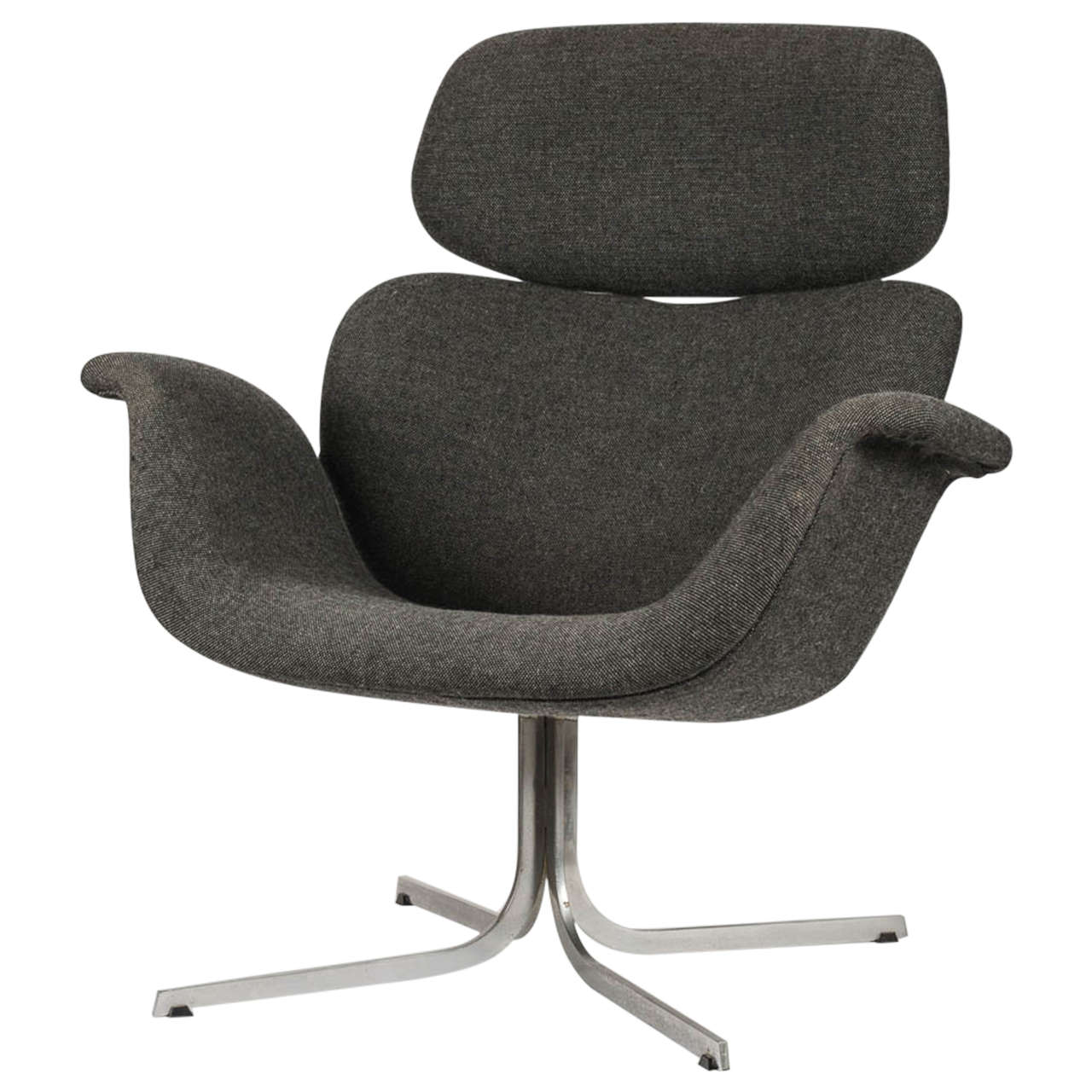 Big Tulip Lounge Chair by Pierre Paulin for Artifort For Sale at 1stdibs