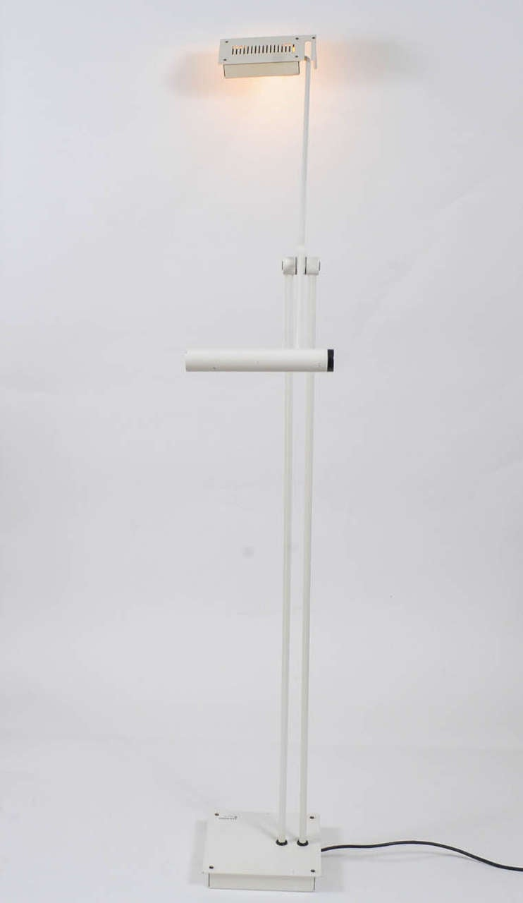 1970s Adjustable Floor Lamp by Stilnovo For Sale at 1stdibs