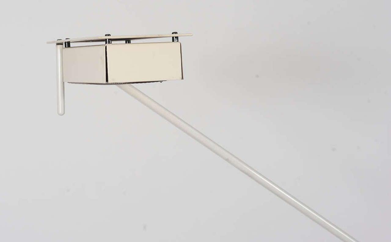 Mid-Century Modern 1970s Adjustable Floor Lamp by Stilnovo For Sale