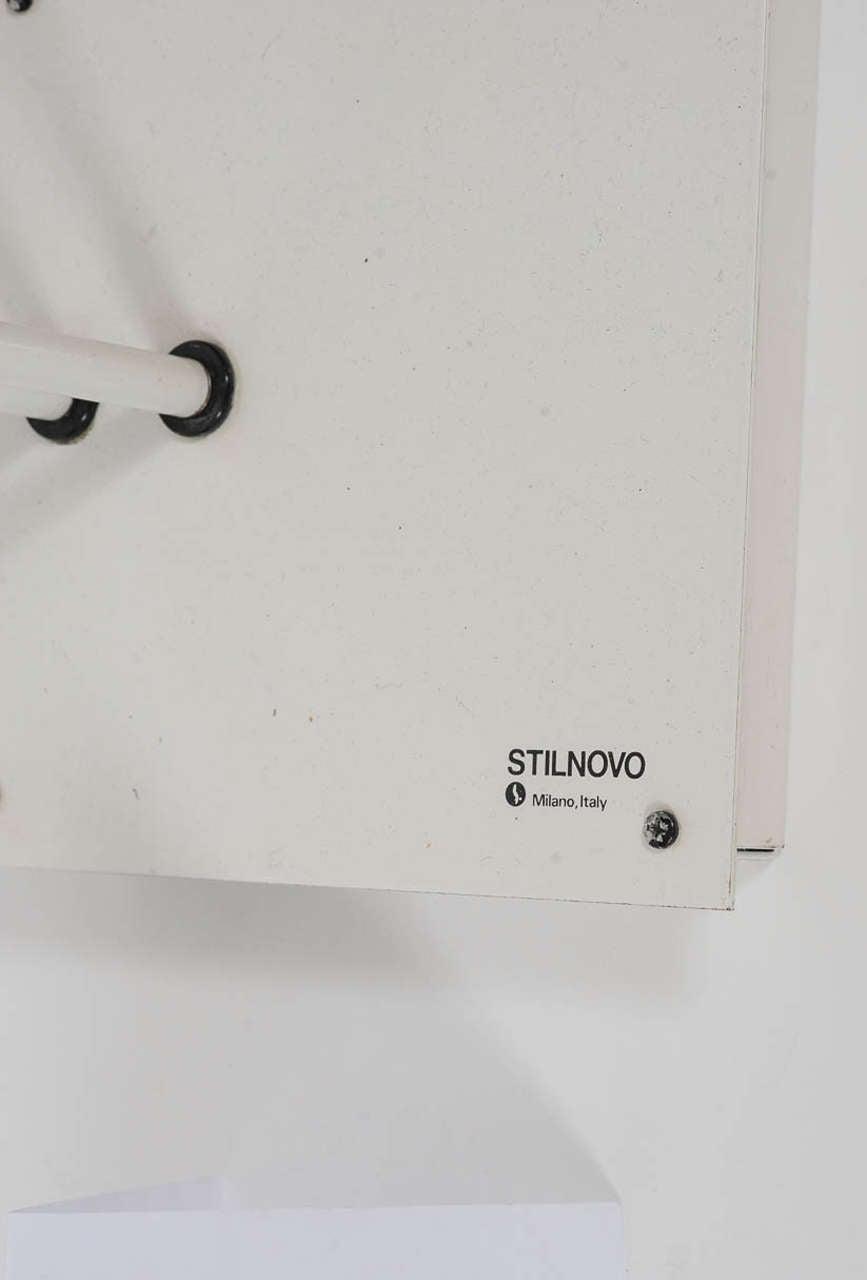 Italian 1970s Adjustable Floor Lamp by Stilnovo For Sale