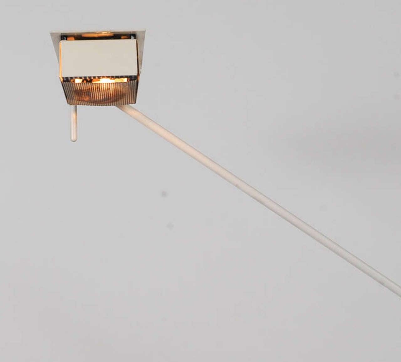 1970s Adjustable Floor Lamp by Stilnovo In Good Condition For Sale In Doornspijk, NL