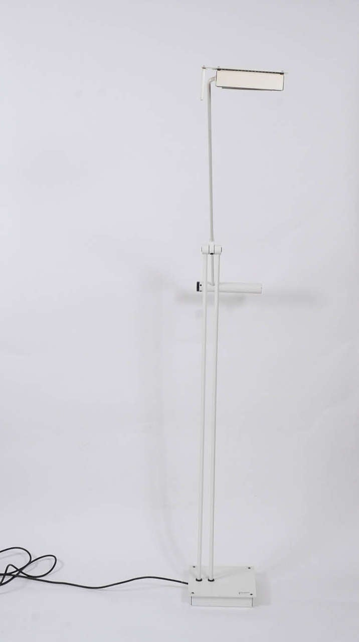 Late 20th Century 1970s Adjustable Floor Lamp by Stilnovo For Sale
