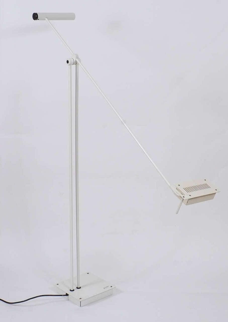 1970s Adjustable Floor Lamp by Stilnovo For Sale 1
