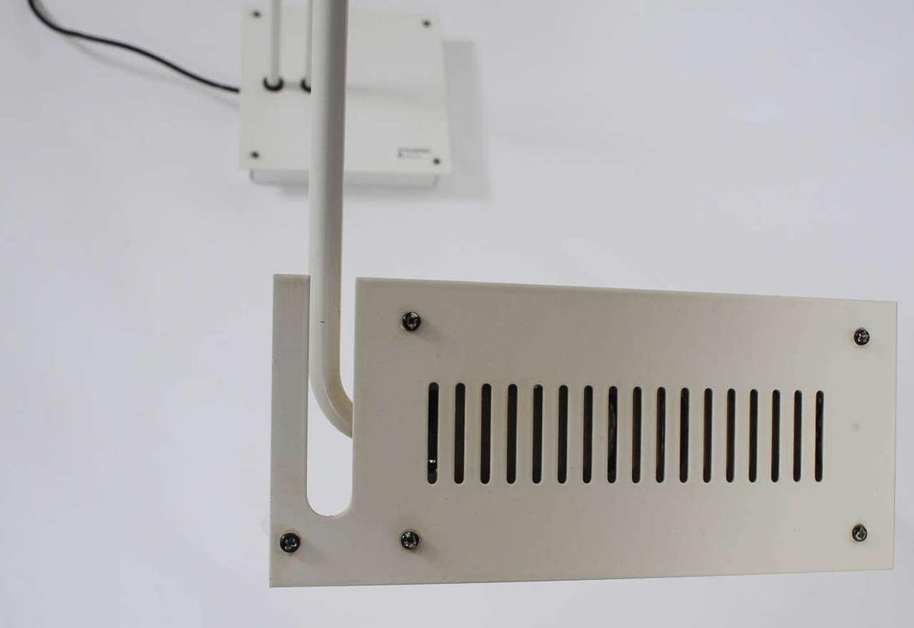 1970s Adjustable Floor Lamp by Stilnovo For Sale 2
