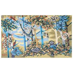 La Forêt 1950s Tapestry by Robert Debiève