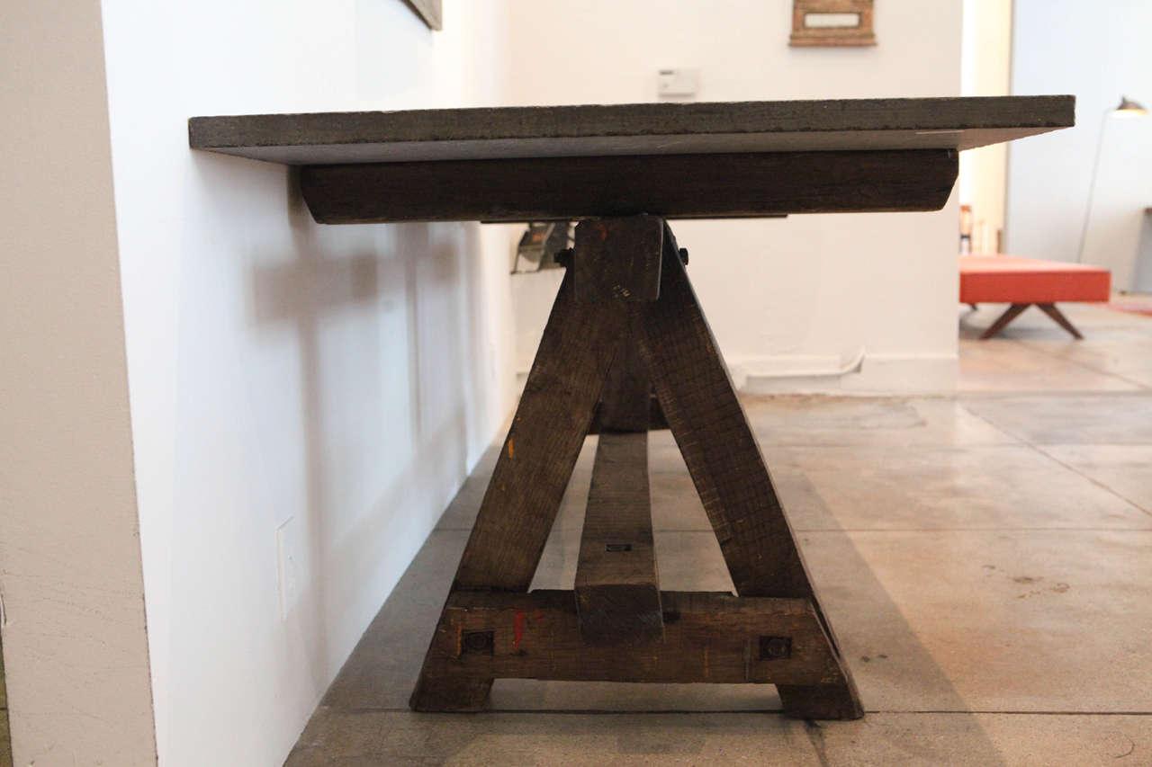 Bluestone Work Table , France, 18th Century 1