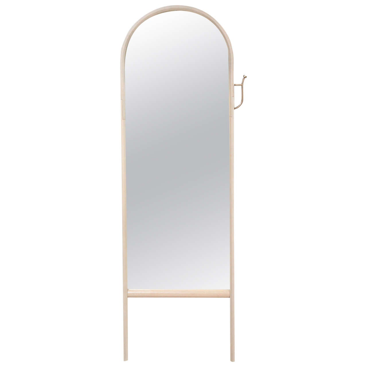 Paniolo Floor Mirror by O&G Studio in Oyster Stain on Ashwood