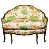 French Rococo Style Settee by Maison Jansen