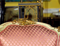 French Louis XV Style Lady's Chair thumbnail 3