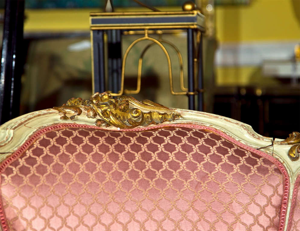 French Louis XV Style Lady's Chair image 3