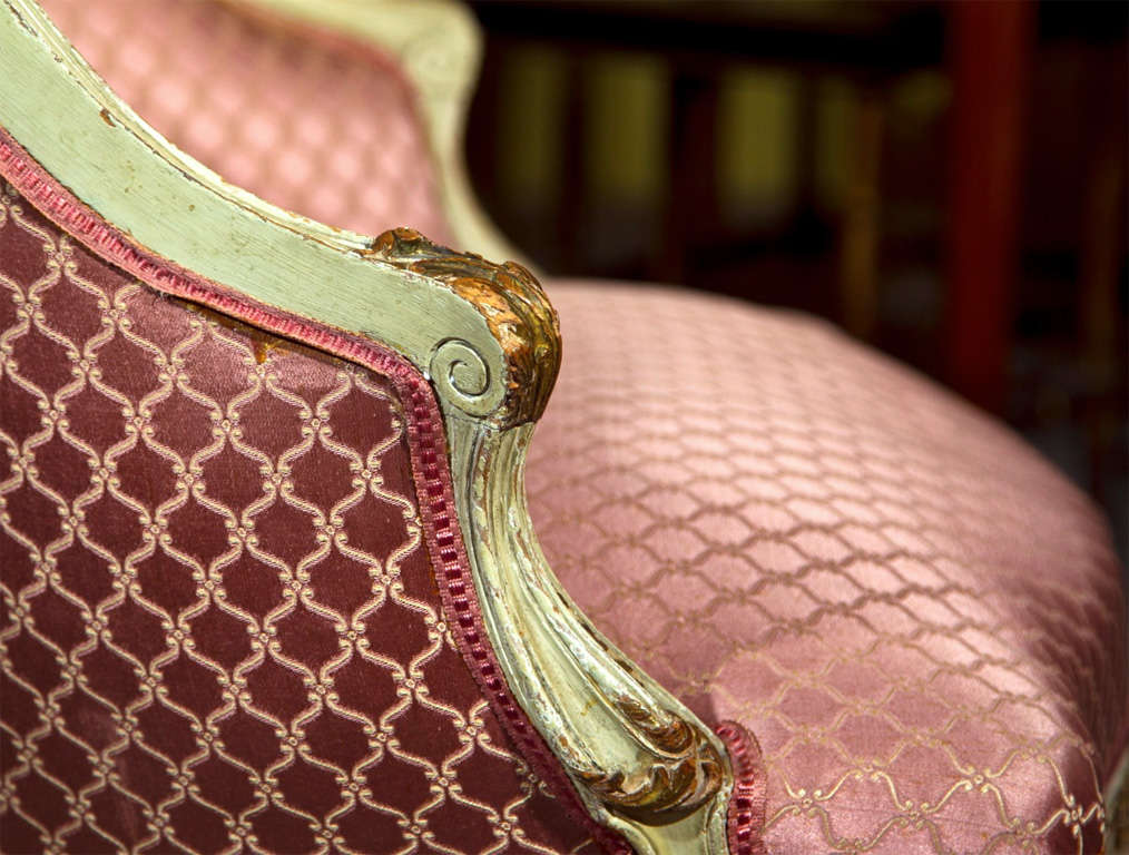 French Louis XV Style Lady's Chair 7