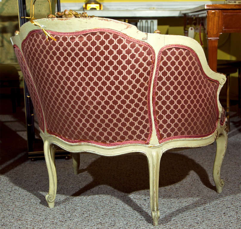 French Louis XV Style Lady's Chair 8