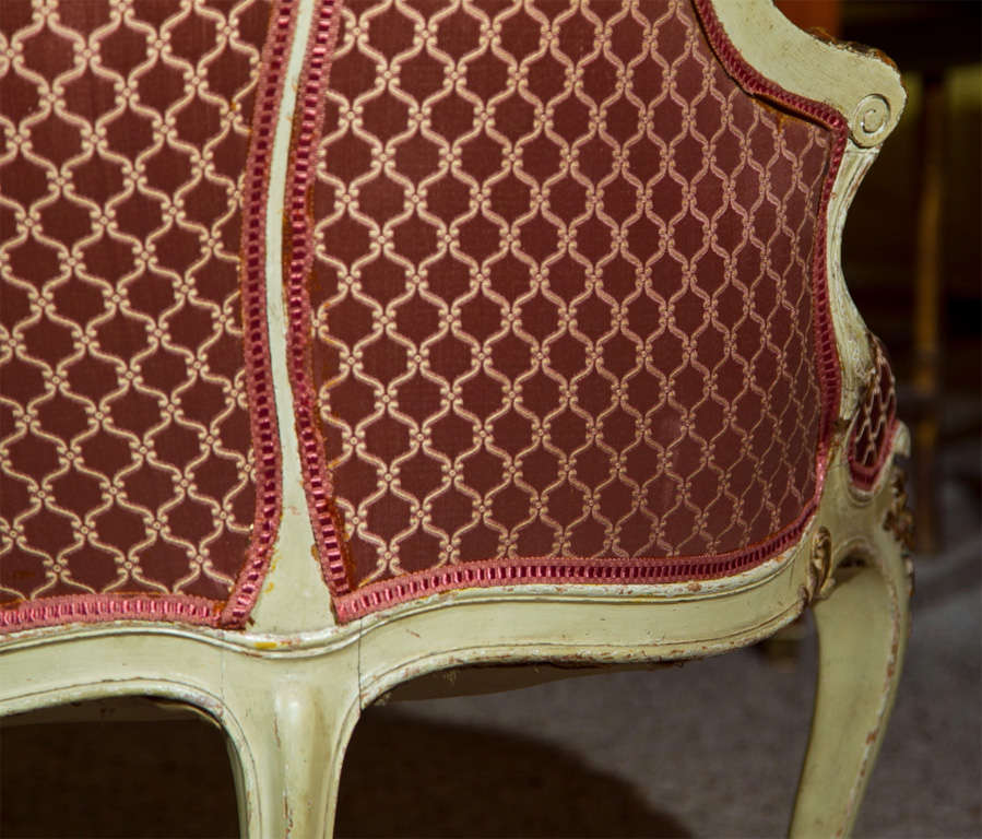 French Louis XV Style Lady's Chair 9