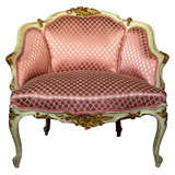 French Louis XV Style Lady's Chair thumbnail 1