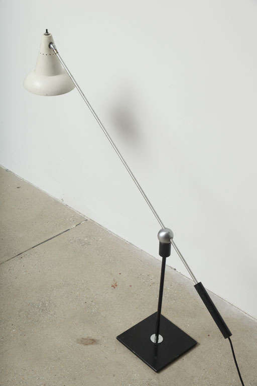 Gilbert Waltrous Heifetz Table Lamp, circa 1950s In Good Condition For Sale In New York, NY