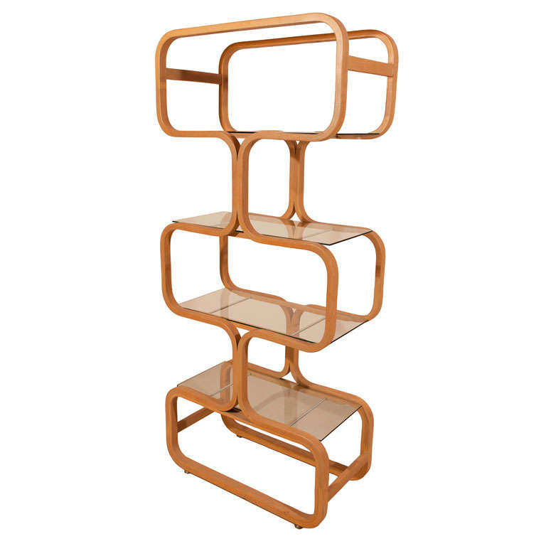1960 S Bentwood Etagere At 1stdibs